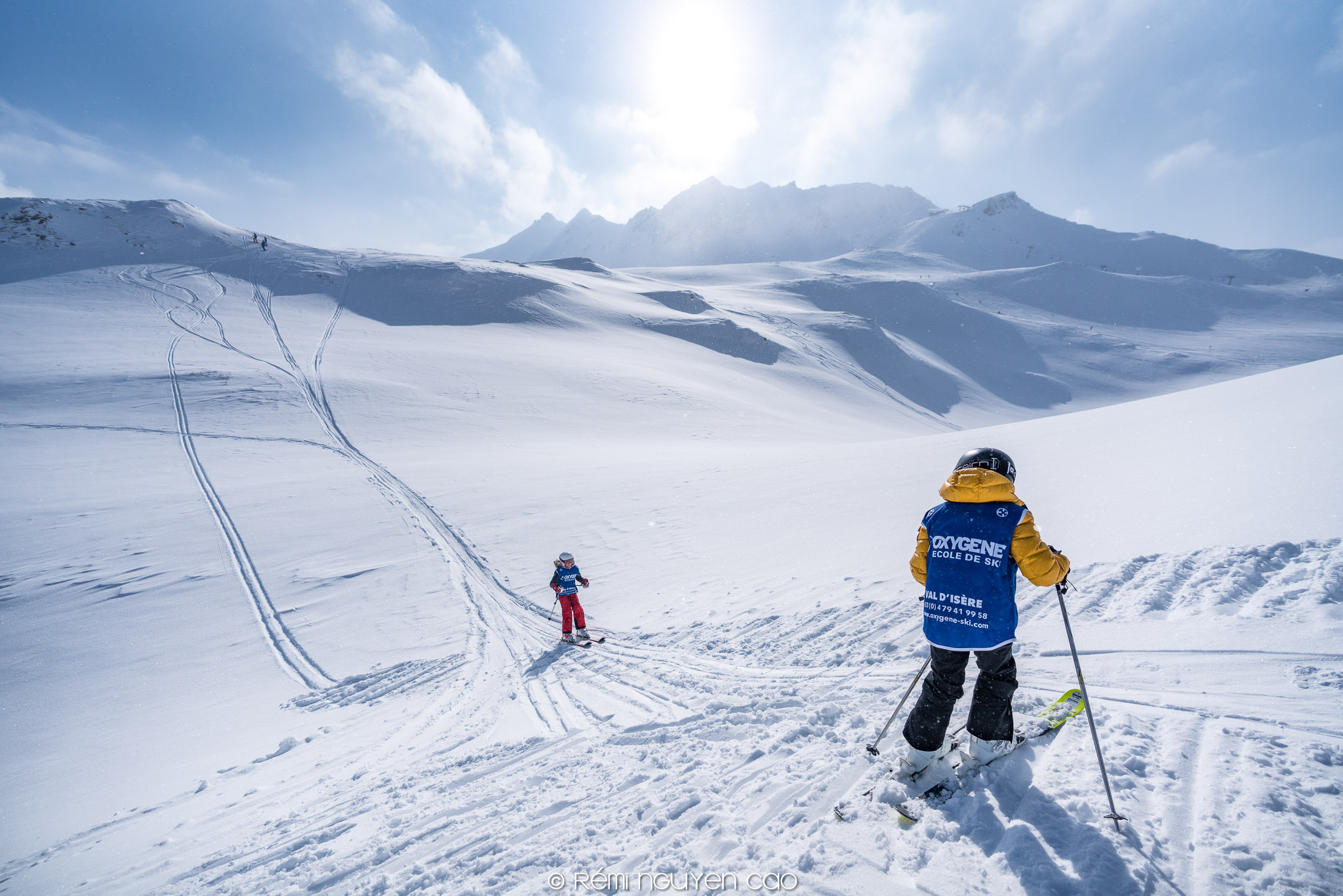 Pro Rider ski lesson