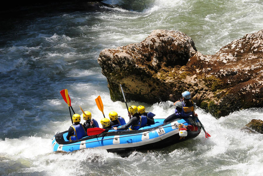 Le Rafting oui mais en famille !
