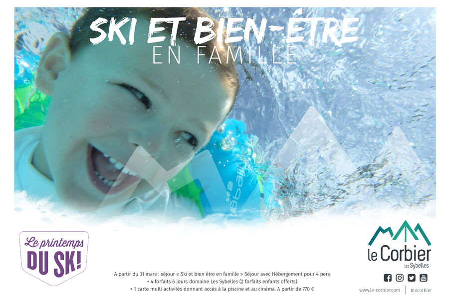 SKIING INTO SPRING : Ski & wellness with your family