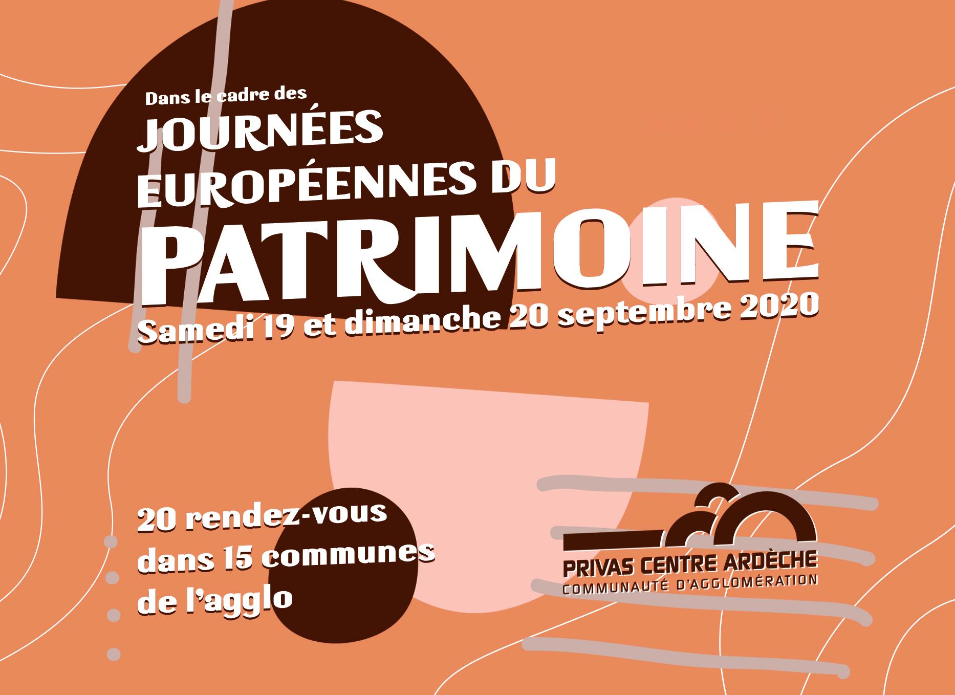 Alle leuke evenementen! : Journées Européennes du Patrimoine en Ardèche Buissonnière