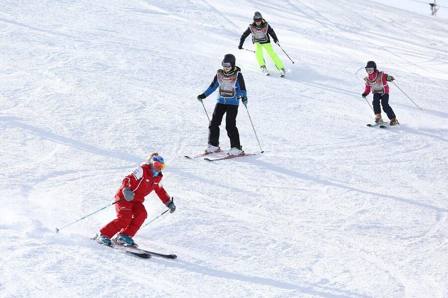 Cours de ski collectif ESF Orelle