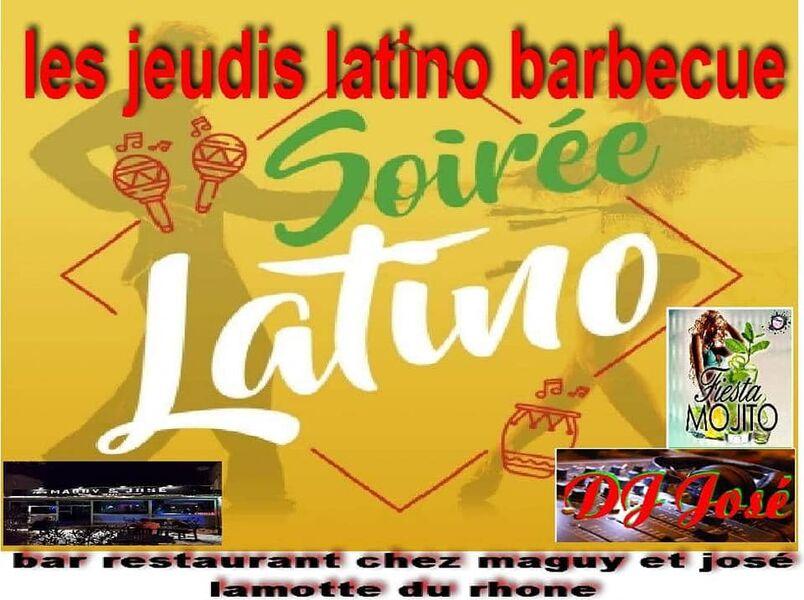 Soirée latino Chez Maguy et José - Lamotte-du-Rhône