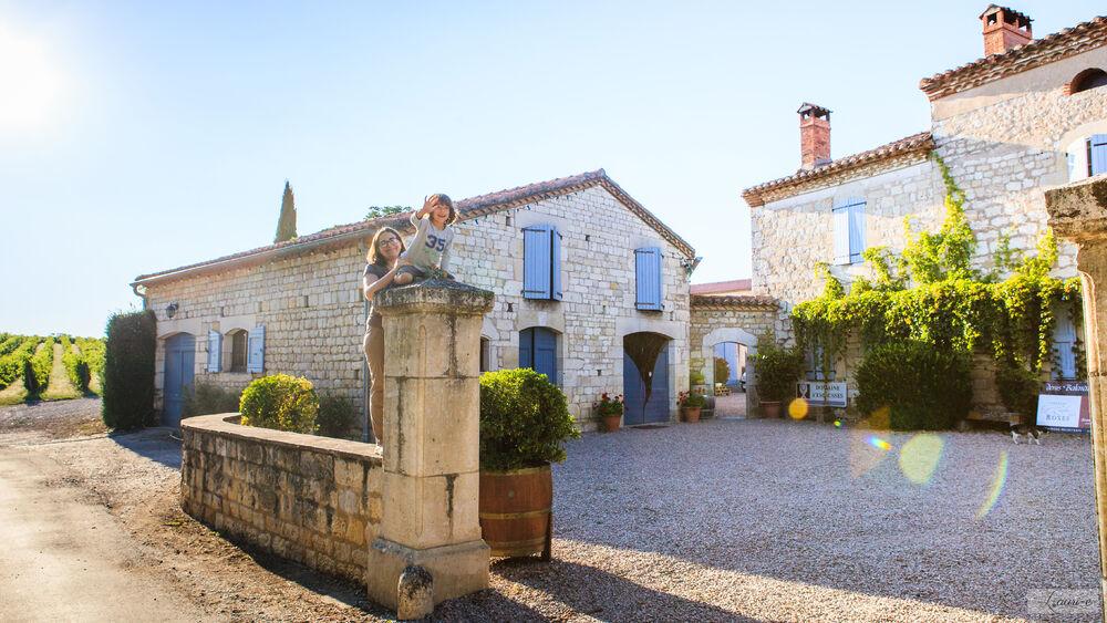 CHAI mon Vigneron au Domaine d'Escausses / Chateau l'Enclos des Roses (Famille Balaran)