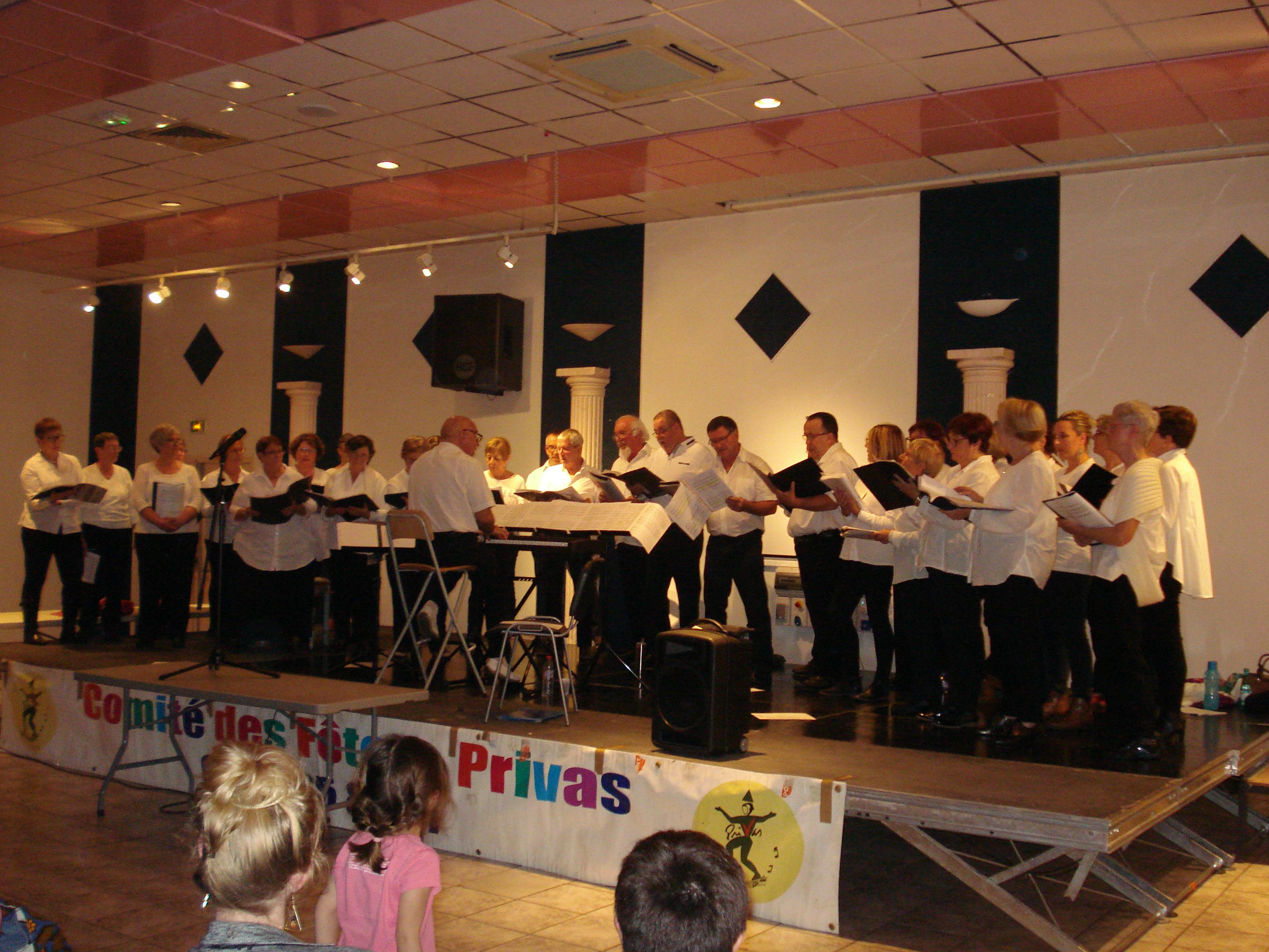 Events…Put it in your diary : Concert par la choraleLes Baladins