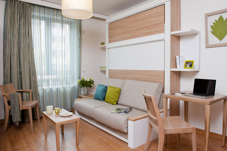 Une chambre à l'Adagio City Aparthotel