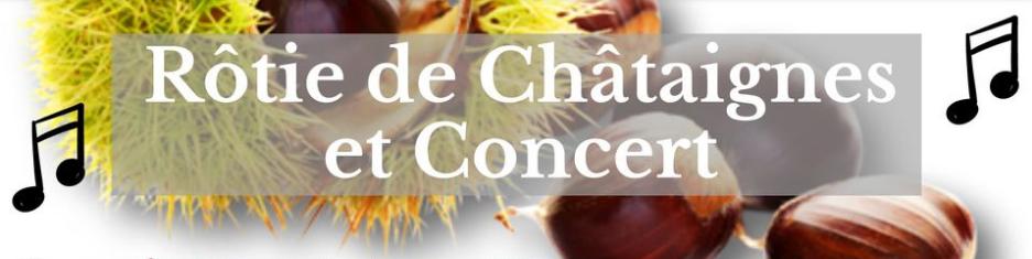 Alle leuke evenementen! : Rôtie de châtaignes et concert