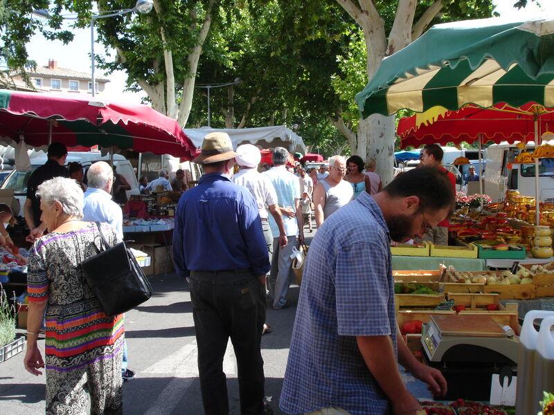 Marché provençal - Carpentras