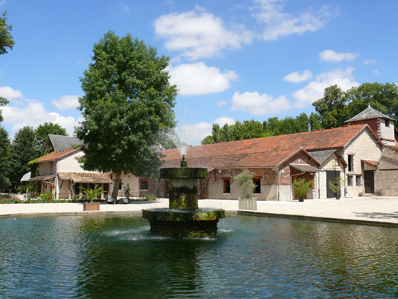 Abbaye Sainte Marie de Cercanceaux à Souppes sur Loing