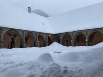 Abbaye d'Abondance hiver