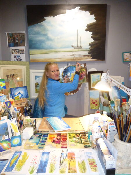 Atelier Mireille PAYRE - Artiste peintre