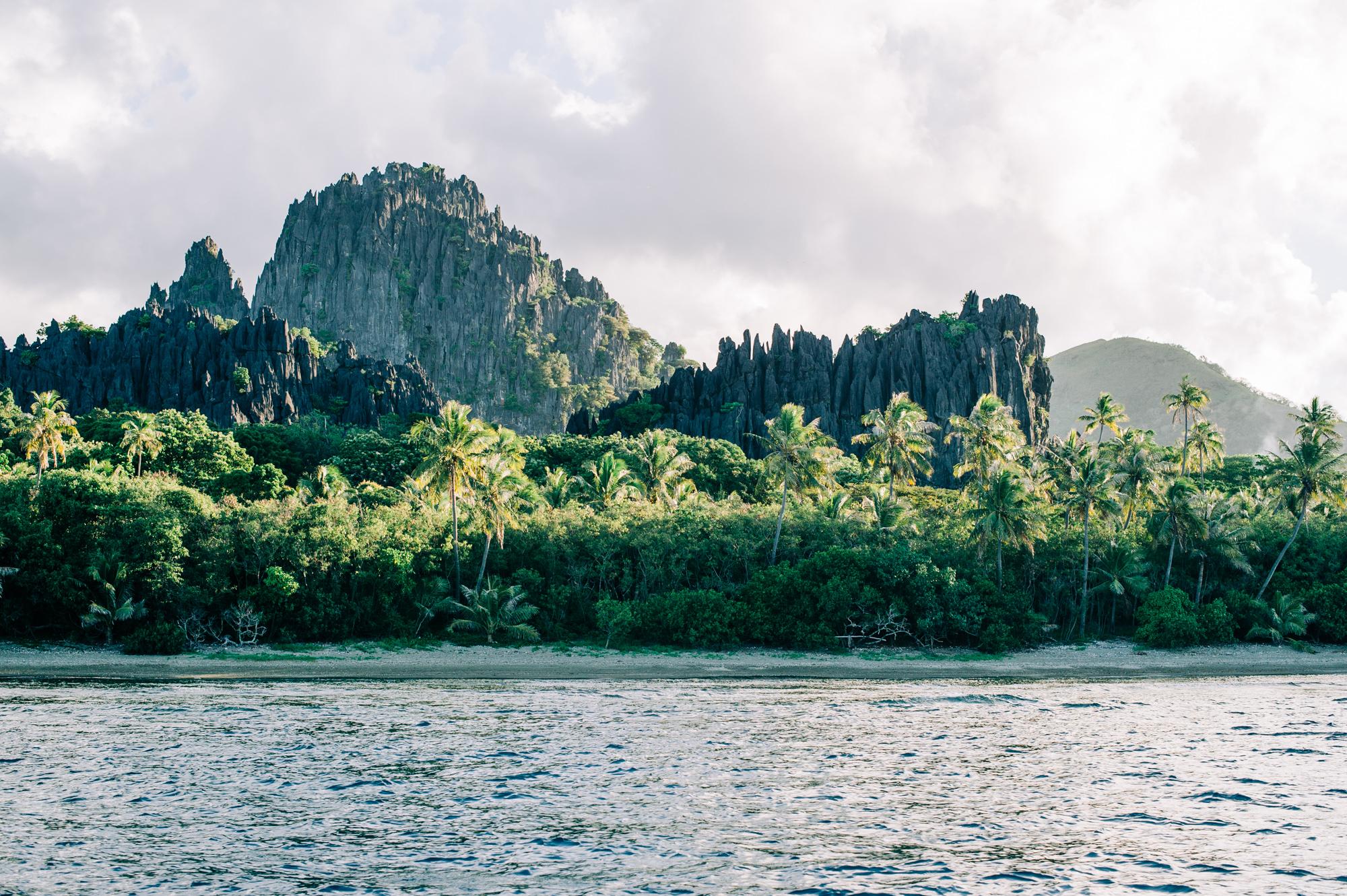 Excursion en mer sur l'îlot Hiengabat