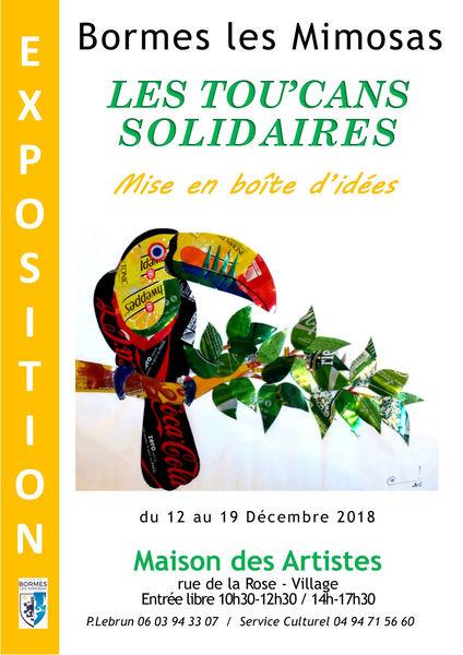 Exposition Les Tou'Cans solidaires à Bormes-les-Mimosas