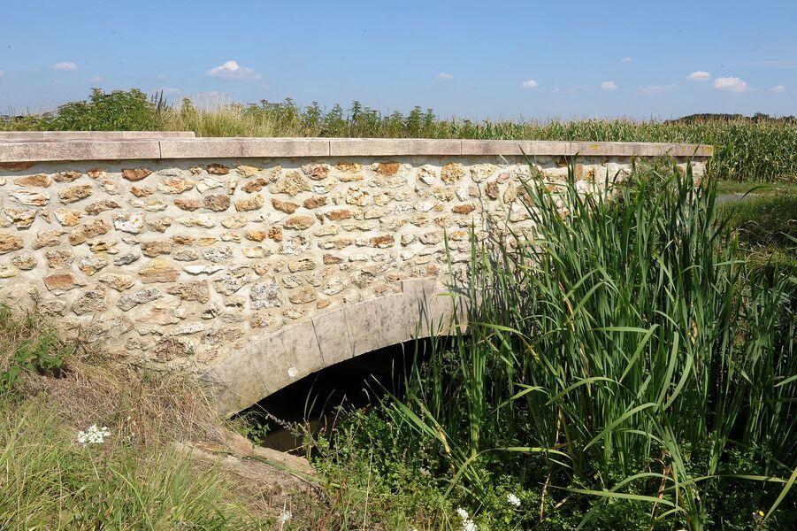 Pont sur rigole