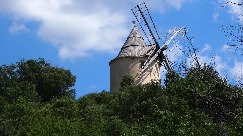 Visite du Moulin à vent de Saint Michel l\'Observatoire