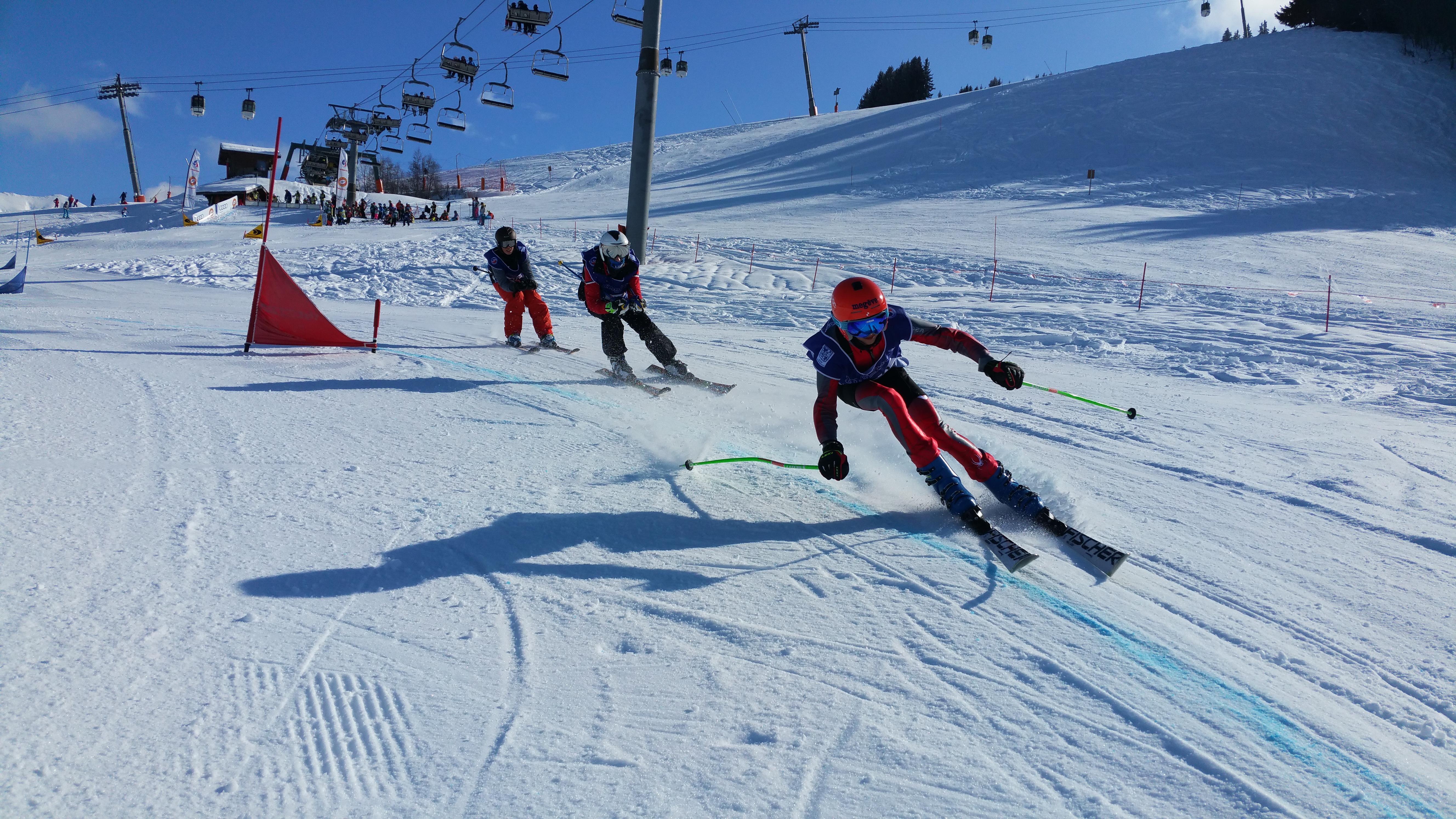 initiation compétition slalom