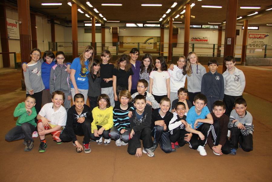 Les élèves de 6e B 2012-2013