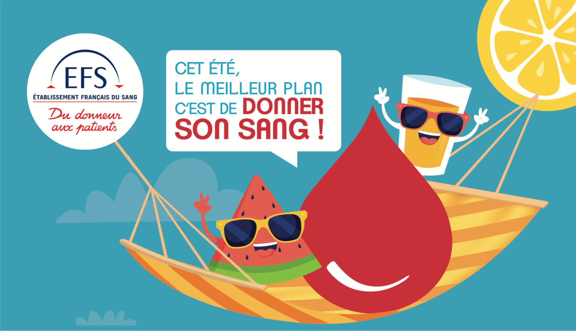 Events…Put it in your diary : Collecte de sang (le don de sang, un geste qui sauve !)