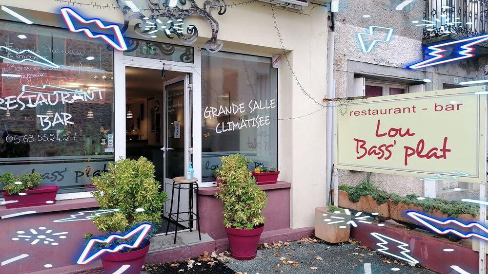 Café - Restaurant Lou Bass' Plat