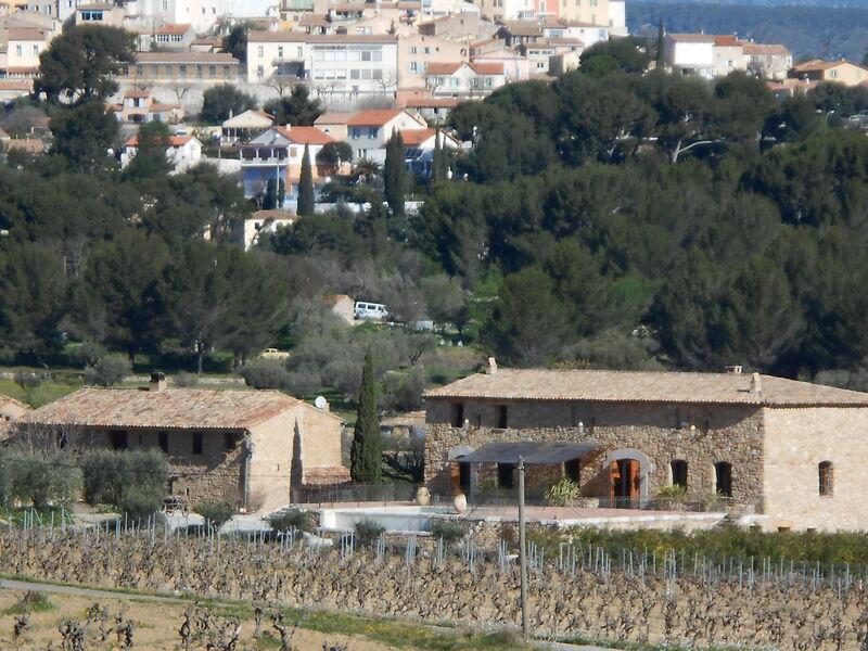 Gros Noré Vineyard - Village & vineyard view - Alain Pascal