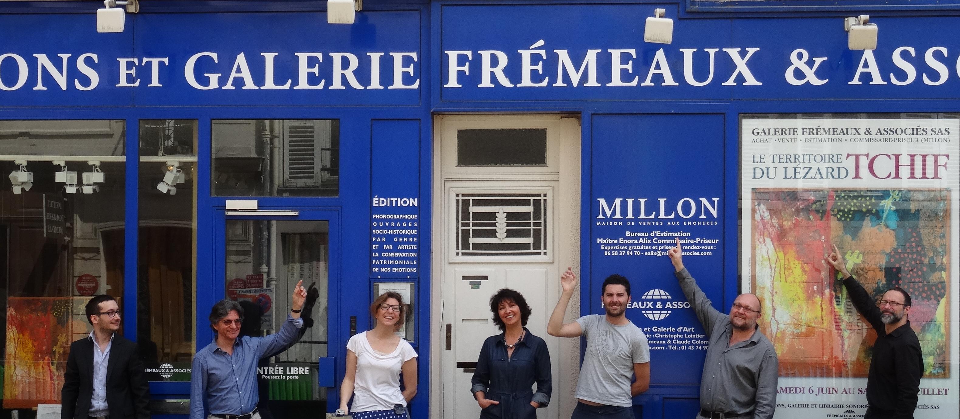 L'équipe de la Galerie Frémeaux