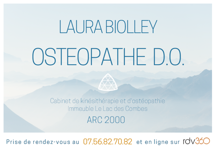 Laura Biolley ostéopathe D.O