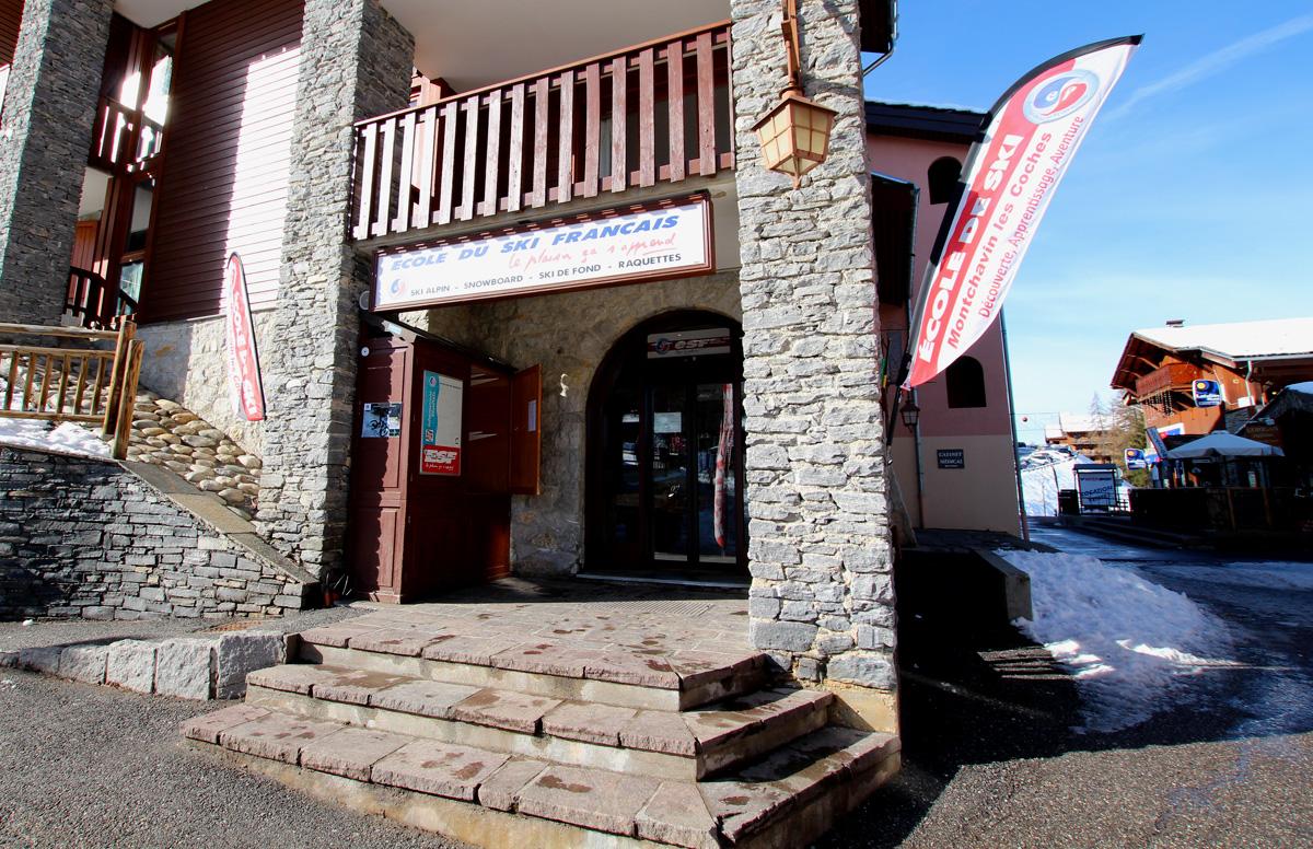 ecole de ski fran ais les coches la plagne station de ski la plagne. Black Bedroom Furniture Sets. Home Design Ideas