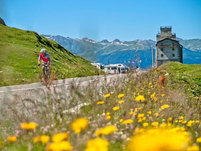Cyclo Col du Petit St Bernard