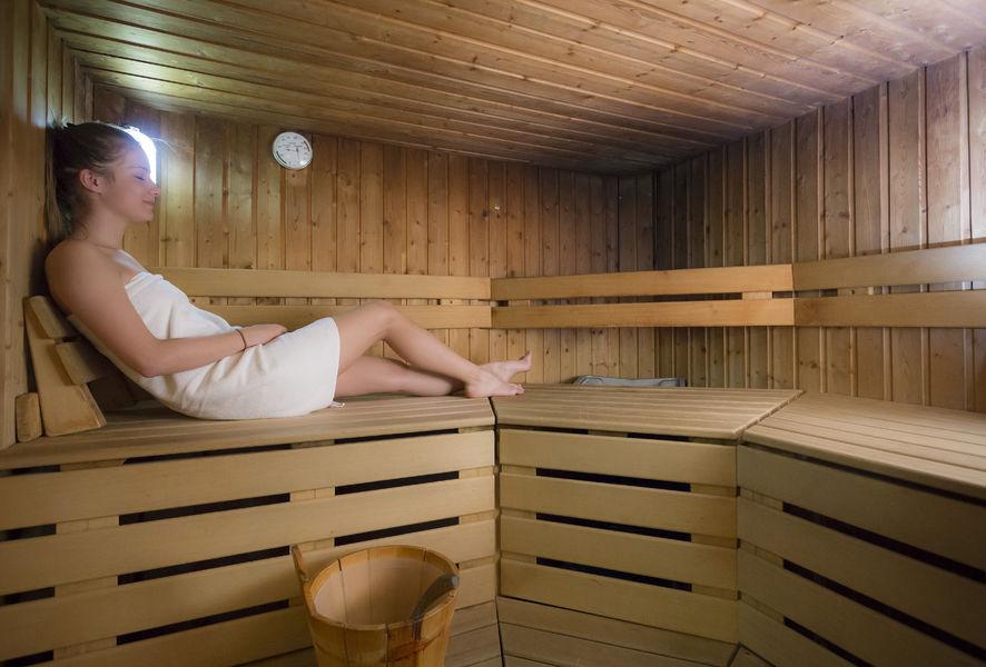 sauna Belambra HOTEL  Cachette