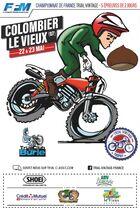 Championnat de France Moto Trial Vintage - Colombier-le-Vieux