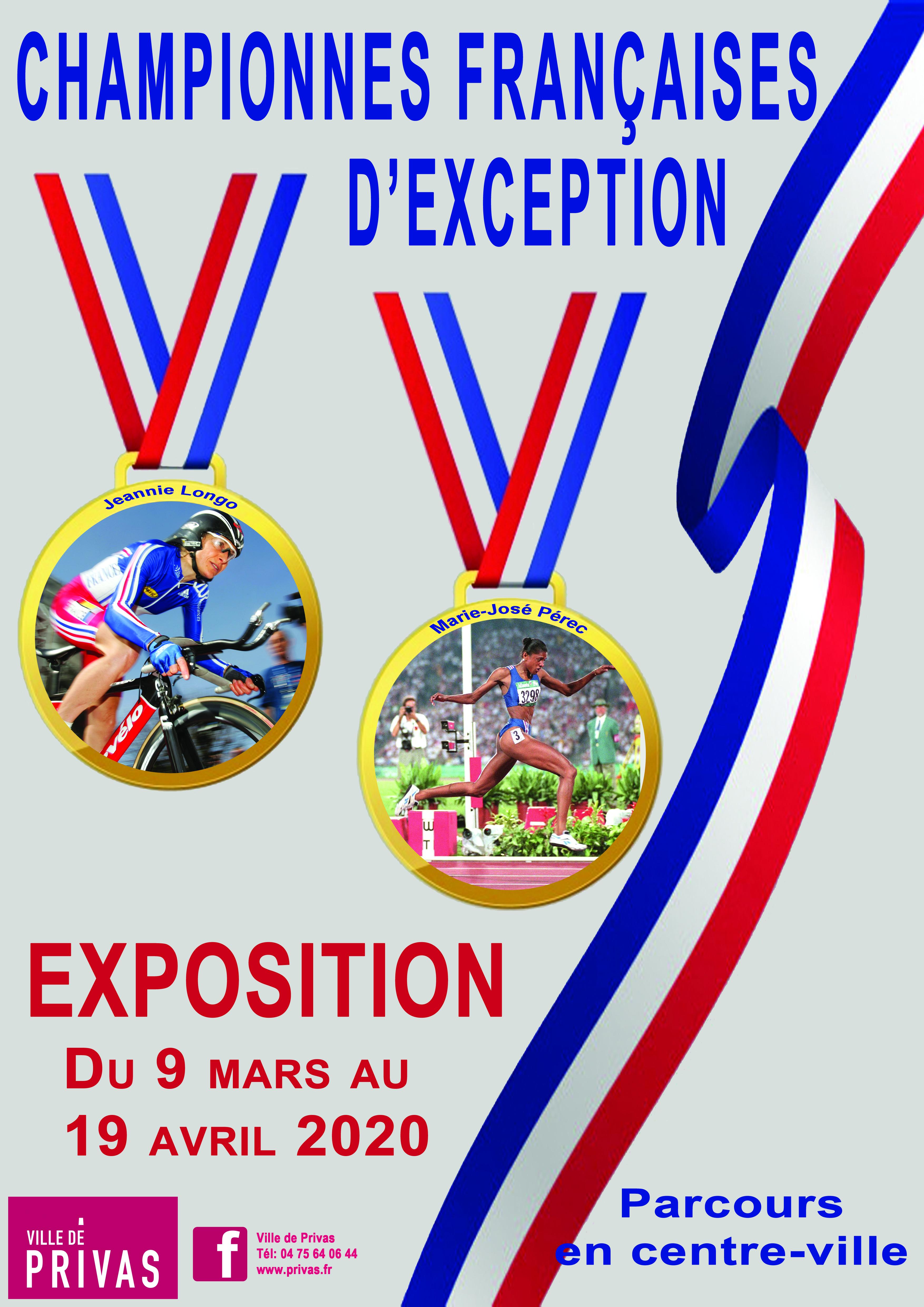 Events…Put it in your diary : Exposition photographique Les championnes françaises d'exception
