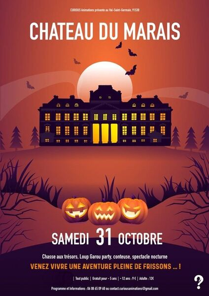 Halloween au château du Marais
