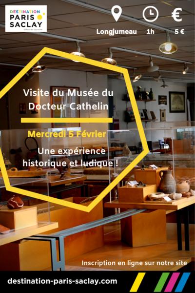 Visite du Musée du Docteur Cathelin