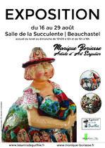 Exposition d'œuvres de Monique Borias - Beauchastel