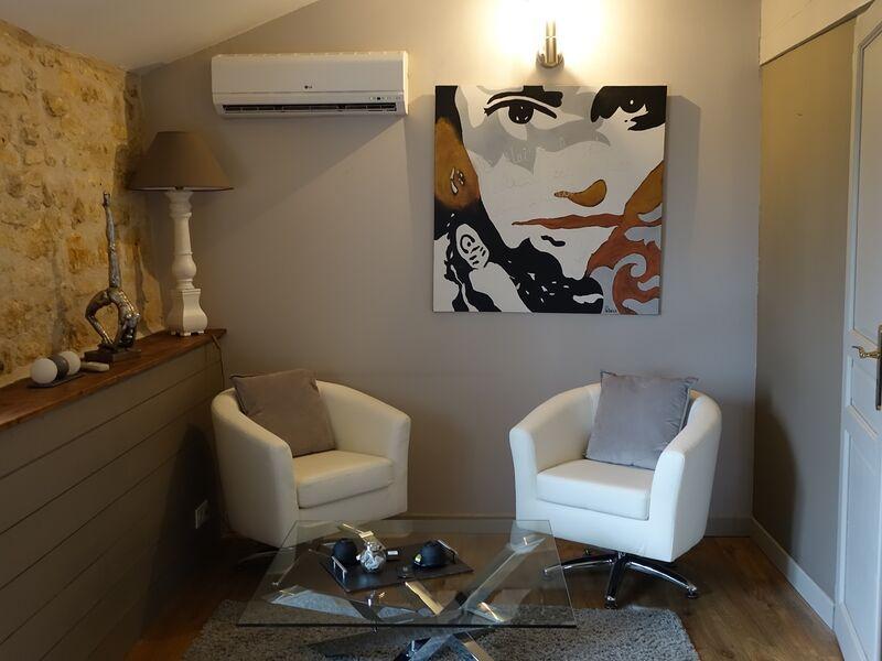 Chambre Oléron salon