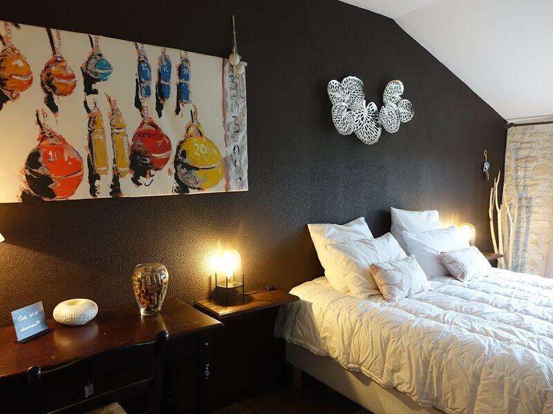 Chambre Ré lit double