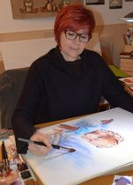 Aquarelliste - Sylvie Genty