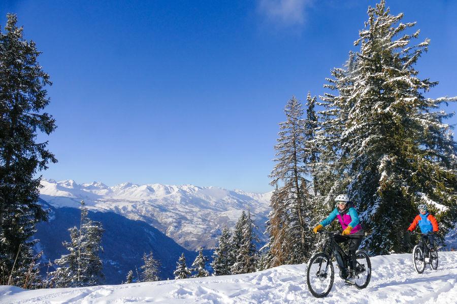 Fat Bike & E-Bike (VTT à Assistance Electrique) sur neige