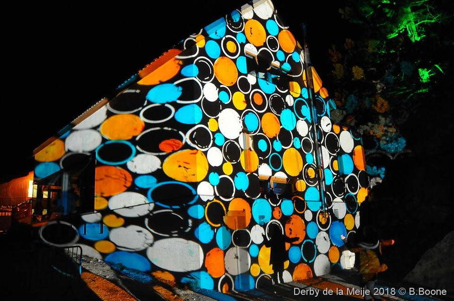 Illumination de la Salle des Fêtes - ©B.Boone