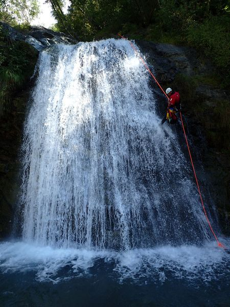canyoning - canyon river trip