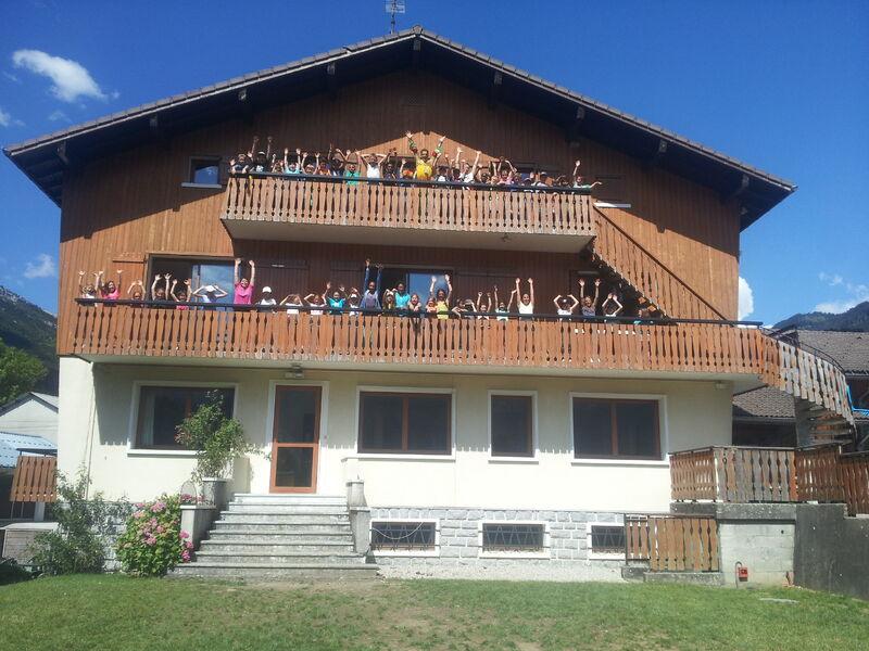 Chalet les Armaillis OVAL à Thônes en été