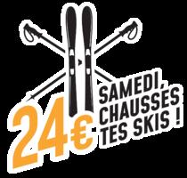 Samedi, Chausse tes skis